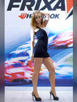 """photo from the publication """"MIMS- 12. Margo."""", author Эдуард@fotovzglyad, Tags: [exhibitions, events of 2012, Interauto and MIMS, dress very short (mini-dress), dress fitting, tight, slinky, events, car show]"""