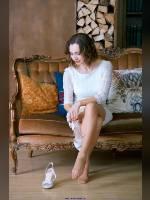 """1 place"" competition ""November 2019, best photos of the month"": ""Alenka in white"", author: Kostya Romantikov (<a href=""https://www.fotoromantika.ru/#id=18358&imgid=148431"">photos in the publication</a>)"