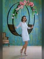 """Best 25"" competition ""November 2019, best photos of the month"": ""Alenka in white"", author: Kostya Romantikov (<a href=""https://www.fotoromantika.ru/#id=18358&imgid=148426"">photos in the publication</a>)"